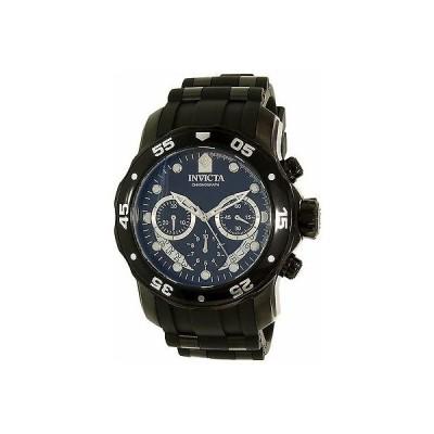 インヴィクタ Invicta メンズ Pro Diver 21930 ブラック シリコン クォーツ 腕時計