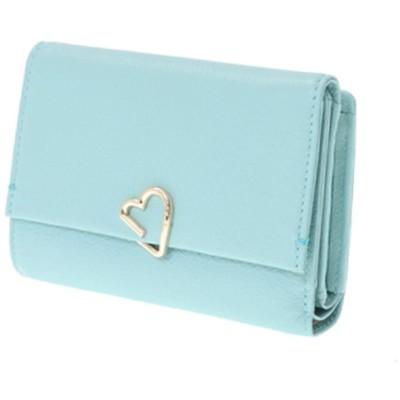 LANVIN en Bleu ランバンオンブルー ロシェ 外ファスナー三つ折り財布