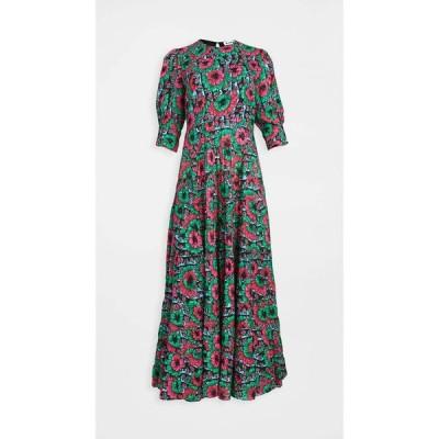 リキソ RIXO レディース ワンピース ワンピース・ドレス Kristen Dress Hibiscus Floral