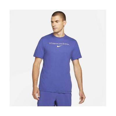 【販売主:スポーツオーソリティ】 ナイキ/メンズ/ナイキ DF WYDIF S/S Tシャツ メンズ ラピス M SPORTS AUTHORITY