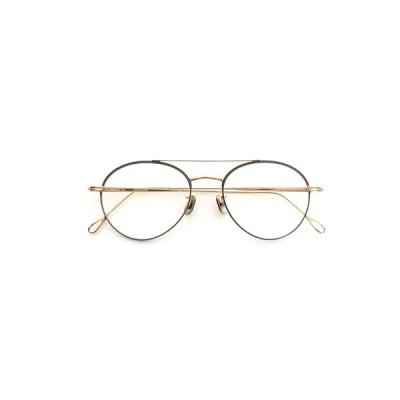 アイヴァン7285 メガネ 139-8070 メタル ティアドロップ カラーレンズ付き