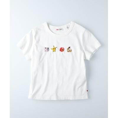 刺繍ポケモンTシャツ(プリン/ピカチュウ/イーブイ)