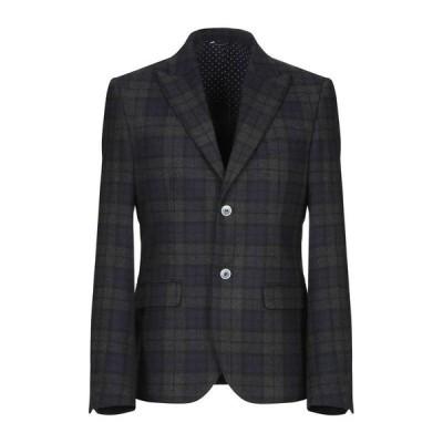 GREY DANIELE ALESSANDRINI テーラードジャケット ファッション  メンズファッション  ジャケット  テーラード、ブレザー ダークブルー