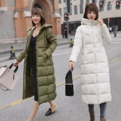 8色!コート ダウンコート レディース 中綿 コート ダウンジャケット 冬 40代 カジュアル ダウンコート ロング丈 軽い 暖かい 大きいサイズ アウター