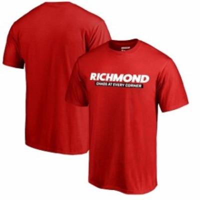Fanatics Branded ファナティクス ブランド スポーツ用品  Fanatics Branded Red Richmond Raceway Horizontal Logo T-Shirt