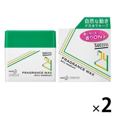 花王新商品 サクセス24 フレグランスワックス エアリーミディアム 80g 2個 花王