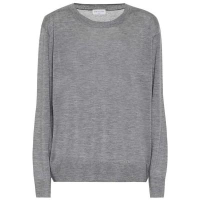 ドリス ヴァン ノッテン Dries Van Noten レディース ニット・セーター トップス Cashmere and silk sweater Grey