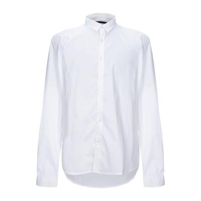 インディビジュアル INDIVIDUAL シャツ ホワイト M コットン 55% / ポリエステル 40% / ポリウレタン 5% シャツ