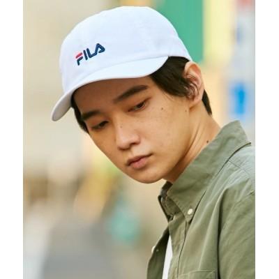 OVERRIDE / 【FILA】FLM BASIC COTTON TWILL CAP/ MEN 帽子 > キャップ