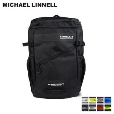 マイケルリンネル MICHAEL LINNELL リュック バッグ 32L メンズ レディース バックパック BOX BACKPACK ブラック ネイビー カーキ 黒 ML-