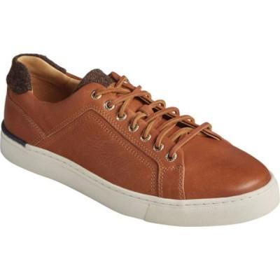 トップサイダー スニーカー シューズ メンズ Gold Cup Victura LTT Sneaker (Men's) Tan Full Grain Leather