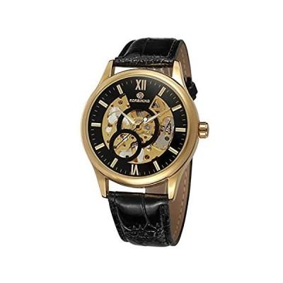 特別価格FORSININGメンズドレスレザー腕時計fsg8094m3g3好評販売中