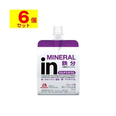 [森永製菓]inゼリー マルチミネラル 180g【6個セット】