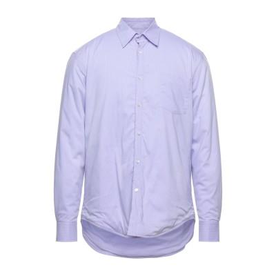 マウロ グリフォーニ MAURO GRIFONI シャツ ライラック 41 コットン 73% / ナイロン 23% / ポリウレタン 4% シャツ