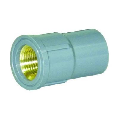 ■クボタケミックス TSメタル給水栓ソケット TS-MWS 20【4678915:0】