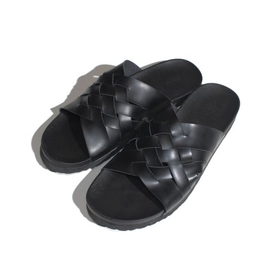 ANCHOR by ROTAR/VIVIFY / Microfiber weaved sandals マイクロファイバー 編み込みサンダル MEN シューズ > サンダル