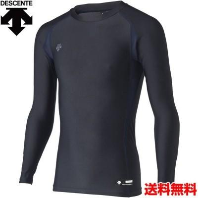 デサント(DESCENTE) 男女兼用 野球・ソフトボール用アンダーシャツ 丸首長袖パワーシャツ STD-667-DNVY
