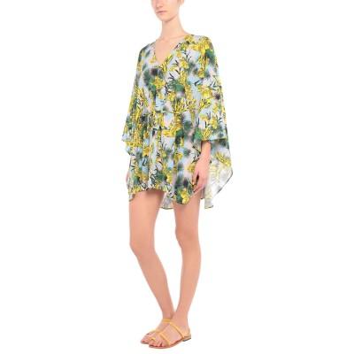 VERSACE ビーチドレス スカイブルー 42 コットン 100% ビーチドレス