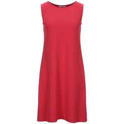 チルコロ 1901 CIRCOLO 1901 ミニワンピース&ドレス レッド 38 コットン 92% / ポリウレタン 8% ミニワンピース&ドレス