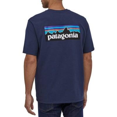 パタゴニア メンズ シャツ トップス Patagonia Men's P-6 Logo Responsibili-Tee Short Sleeve T-Shirt