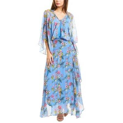 ピンコ レディース ワンピース トップス PINKO Campanelllo Maxi Dress light blue floral