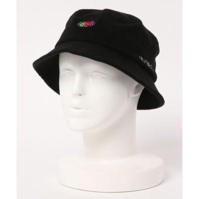 帽子 ハット [FRUIT OF THE LOOM / フルーツ オブ ザ ルーム ] FTL  FLEECE LOGO EMB BUCKET HAT