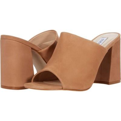 スティーブ マデン Steve Madden レディース サンダル・ミュール シューズ・靴 Clarence Mule Camel Nubuck