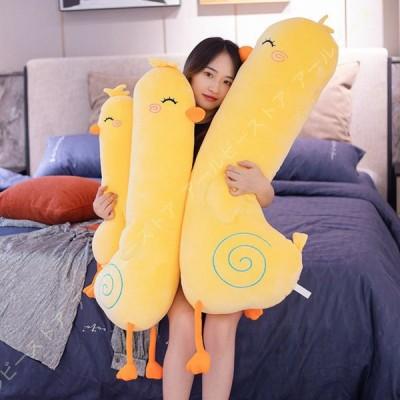 寝る抱き枕 鶏 ガチョウぬいぐるみ プレゼント 白 おもちゃ ぬいぐるみ 立ち姿 気持ちいい 雑貨 動物 ふわふわで癒される かわいい 抱き枕 誕生日 プレゼント