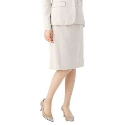 スーツ/レディース/セットアップ/秋冬/PEACH JOHNコラボ/ウォッシャブル/Work Smart タイトスカート ベージュ