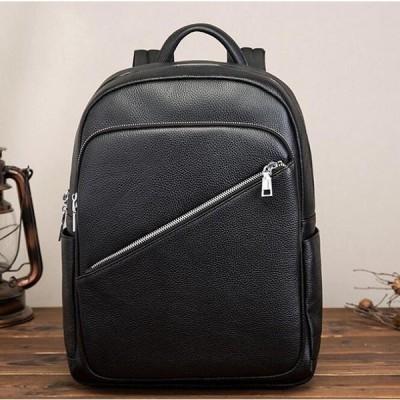 リュック メンズ リュックサック 本革 ビジネスリュック ディバッグ PC対応 牛革 出張 通勤 通学 2WAY 旅行鞄 大容量 バックパック レザー カジュアル