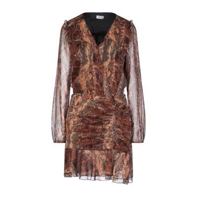 リュー ジョー LIU •JO ミニワンピース&ドレス ベージュ 42 ポリエステル 100% ミニワンピース&ドレス