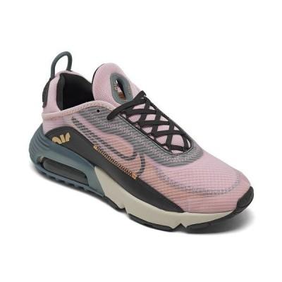 ナイキ スニーカー シューズ レディース Women's Air Max 2090 Casual Sneakers from Finish Line Light Arctic Pink, Black