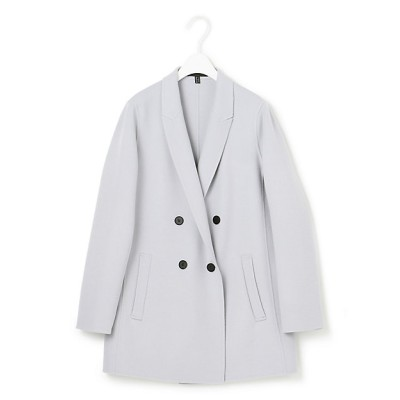 <ICB(Women)/アイシービー>【マガジン掲載】WoolRever ジャケットコート(番号CJ22)(JKCYBW0431) スカイブルー【三越伊勢丹/公式】