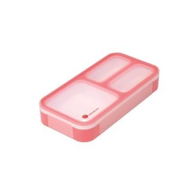 薄型弁当箱フードマンミニ チェリーピンク