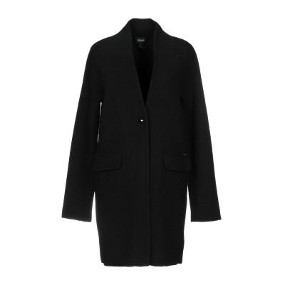 アルマーニ ジーンズ ARMANI JEANS コート ブラック 48 ウール 100% コート