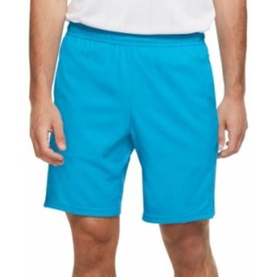 ナイキ メンズ ハーフパンツ・ショーツ ボトムス Men's Court Dry 9 Tennis Shorts Neo Turquoise