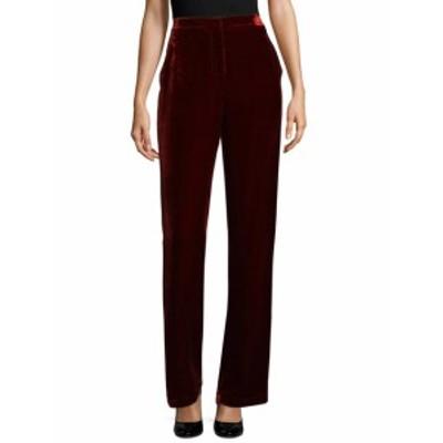BCBG マックスアズリア レディース パンツ Velvet High-Waist Pants