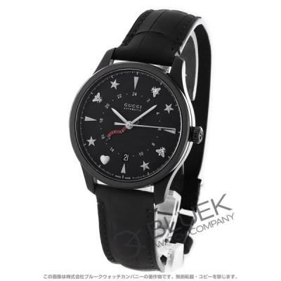 グッチ Gタイムレス GMT アリゲーターレザー 腕時計 メンズ GUCCI YA126333
