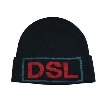 ディーゼル DIESEL 新作ニットキャップ ニット帽子 00SKXL-0DAUT-900 K-LAC CAP BLACK ブラック