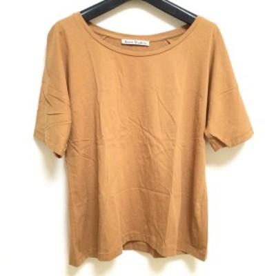 アクネ ストゥディオズ ACNE STUDIOS 半袖Tシャツ サイズXS レディース ブラウン【中古】20210303