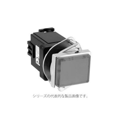 IDEC UPQN416DPW(ピュアホワイト) φ30 TWNシリーズ パイロットライト 長角形(記名式) LED照光 AC100/110V