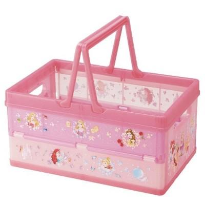 折りたたみ収納ボックス プリンセス / オリコン 収納箱 収納 ボックス BOX おもちゃ入れ おもちゃ箱 子供部屋 折り畳み ディズニー