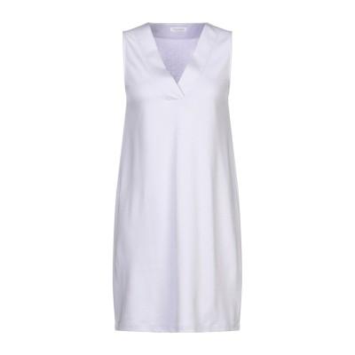 グラン サッソ GRAN SASSO ミニワンピース&ドレス ライラック 40 コットン 94% / ナイロン 6% ミニワンピース&ドレス