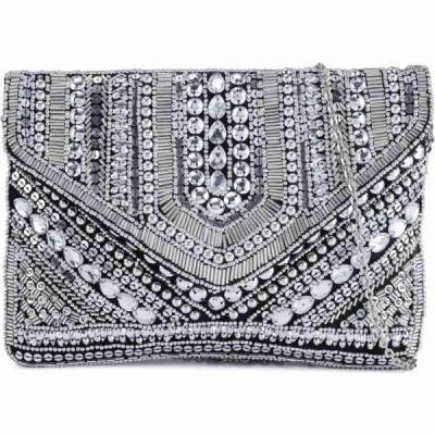 グラマラス Glamorous レディース ショルダーバッグ バッグ Foldover Silver Pouch Silver