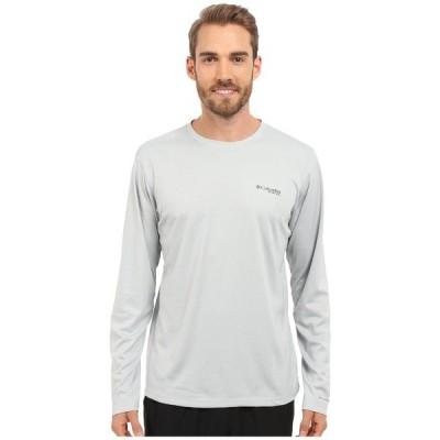 コロンビア シャツ トップス メンズ PFG ZERO Rules L/S Shirt Cool Grey