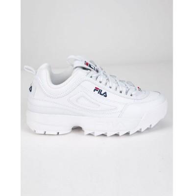 フィラ FILA レディース スニーカー シューズ・靴 Disruptor 2 Premium Shoes WHITE COMBO