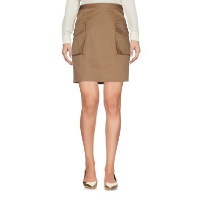ディースクエアード DSQUARED2 ミニスカート カーキ 38 コットン 98% / ポリウレタン 2% ミニスカート