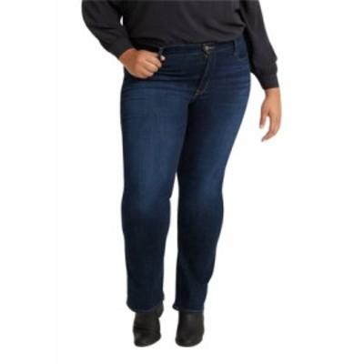 リーバイス レディース デニムパンツ ボトムス Plus Size 415 Classic Bootcut Jeans Cobalt Distress
