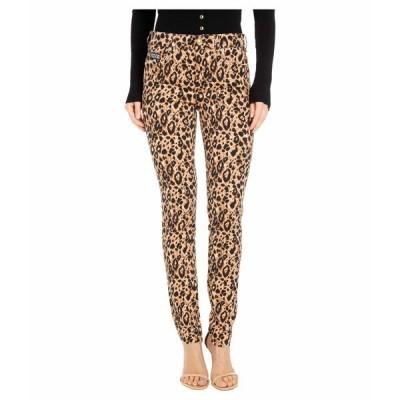 ベルサーチ デニムパンツ ボトムス レディース Skinny Fit Leopard Jeans in Lark Lark