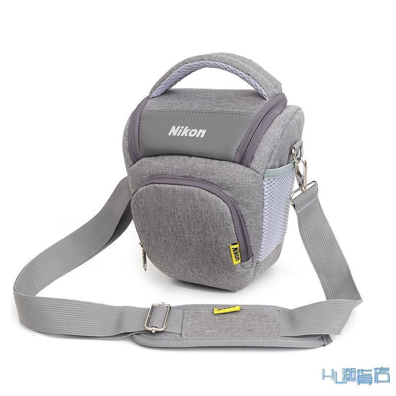 相機包/休閒包 尼康相機包 單反D7500 D7000 D750 D3500 D5600男 單肩攝影三角包『HL642』